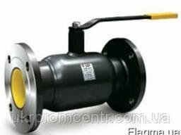 LD КШЦФ кран шаровый фланцевый полнопроходной для газа, воды