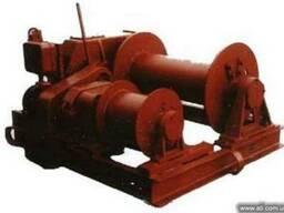 Лебедка для подтягивания вагонов