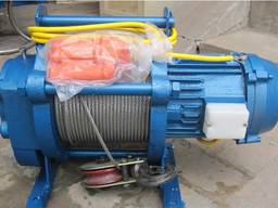 Лебедка электрическая 2 тонны 380 В 30 м троса