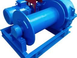 Лебедка ЛМ-10 электрическая монтажная тяговое усилие 10 тонн