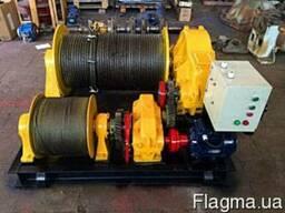 Лебедка электрическая маневровая ТЛ-8Б 315 тонн