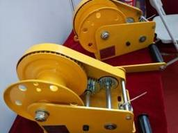 Лебедка ручная барабанная BHW-1150, 1150 кг