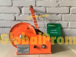 Лебедка ручная с тормозным фиксатором (лебедка ручная БХВ) - photo 3