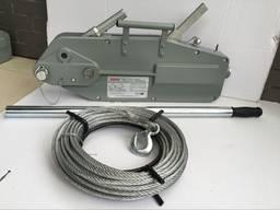 Лебедка рычажная мтм 1600 кг