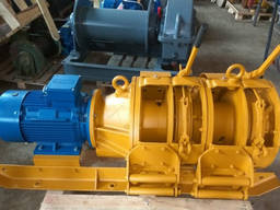 Лебедка шахтная ЛС-10, ЛС-17, ЛС-30, ЛС-55 и ЛС-110 новые