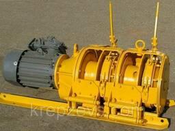 Лебедка скреперная 55ЛС-2СМА