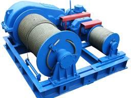 Маневровая лебедка ТЛ-10М электрическая маневровая лебедка