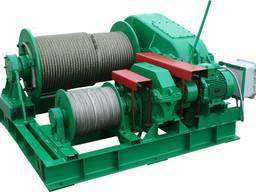 Маневровая лебедка ТЛ-8М электрическая маневровая лебедка ТЛ