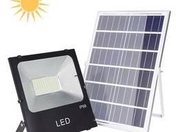 LED-лампа с солнечной панелью модель YZY-LL-105