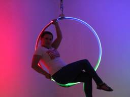 Led Lyra Кольцо для воздушной гимнастики с LED подсветкой.