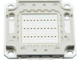 LED СOB матрица 30W красный DC 26-32V