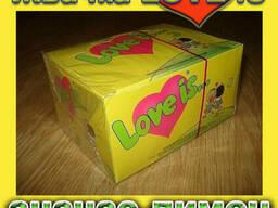 Легендарная жвачка Love is клубника банан (100шт. ) - фото 3