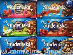 Легендарный шоколад Studentska 180 г
