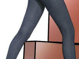 Легінси джинсові джеггінси Bas Bleu Blanka, Темно-синій, 3