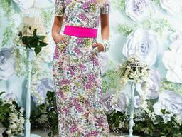 Легкое платье в пол 42-46 , доставка по Украине
