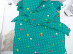 Лего Basic - детское постельное белье (поплин, 100% хлопок)