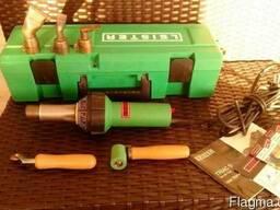 Leister. Ручной аппарат для сварки ПВХ и ТПО мембран.