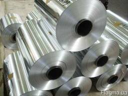 Лента алюминиевая 0,5 х 1200 мм АД1Н фольга в рулоне