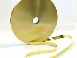 Лента бронзовая 0, 15х240мм марка бронзы БРБ2 в бухте
