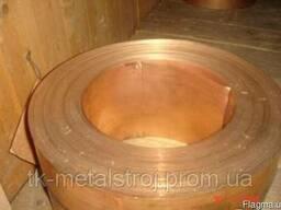 Лента бронзовая 0,8х250 БрБНТ БроФ БрКМц, ціна,