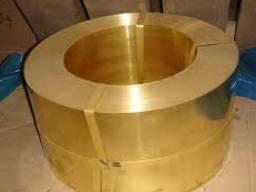 Лента бронзовая БрОФ 0, 15 мм купить