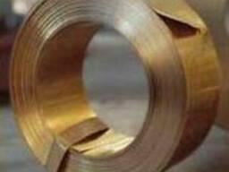 Лента бронзовая БрБ2 0,2х250, ГОСТ