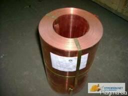 Лента бронзовая БрОФ 6, 5-0, 15 1, 4х250