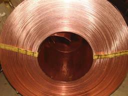 Лента бронзовая БрКМц; БрБ2; БрОФ 0, 1х175 - 0, 8х250мм