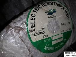 Лента фехраль, лента кантал, провода для сопротивления нагр - фото 4