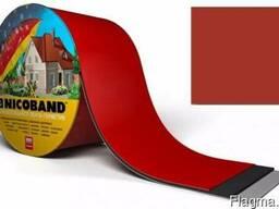 Лента-герметик Nicoband красная 10см*10м