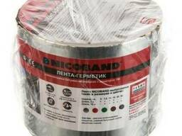 Лента-герметик Nicoband серебристая 10см*3м