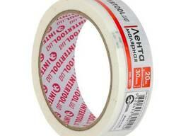 Лента малярная 30мм, 20м, белая Intertool DM-3021