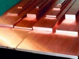 Лента медная 0. 8, 1, 2, 3, 4 мм х 300мм М1 х 300мм М2 ГОСТ