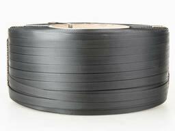 Лента полипропиленновая 19 х 0. 9 мм – 1, 0 км (чёрная) Ø. ..