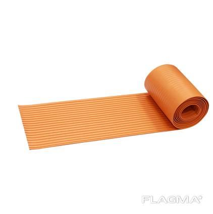 Лента противоскользящая резиновая(300см х 19,5 см) Оранжевая