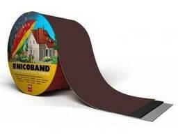 Лента самоклеющаяся Nicoband 30см*10м коричневая
