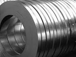 Лента (штрипс) стальная упаковочная 1, 2 мм, широкий сортамент, различные марки стали