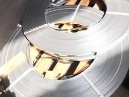 Лента стальная упаковочная оцинкованная 0, 7х20мм