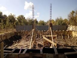 Ленточный фундамент в Днепропетровске