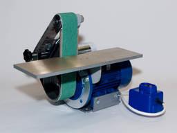 Ленточный гриндер GRN-404 с большим столом 610-50 мм, шлифов