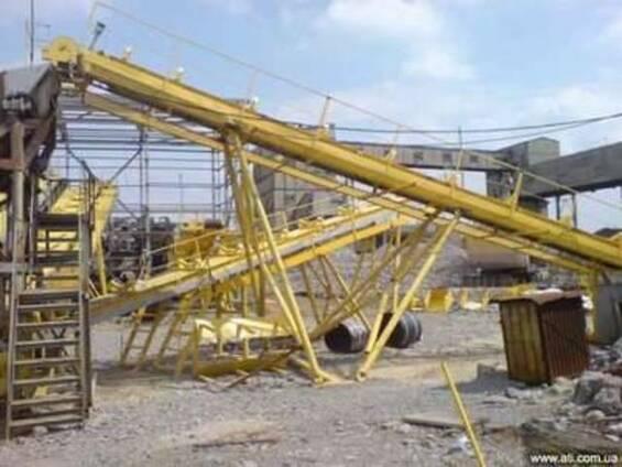 Ленточный конвейер, стрічковий конвеєр, транспортер