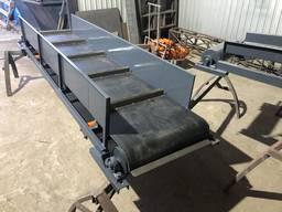 Транспортер ленточный 2 м - 500 мм з бункером. конвейер