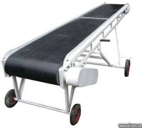Ленточный транспортер конвейер погрузчик шнековый нория