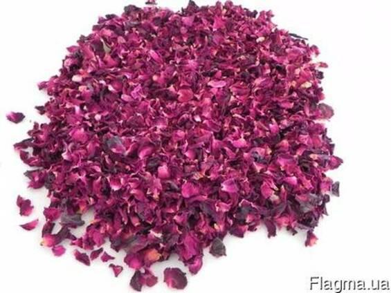 Лепестки бутоны розы сушеные.Роза сушеная.Троянда пелюстки