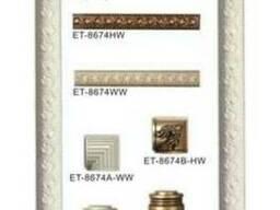 Лепной декор коллекция Classic Home наличник полукруглый