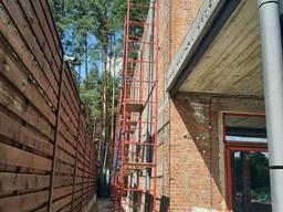 Леса строительные клино-хомутовые усиленные