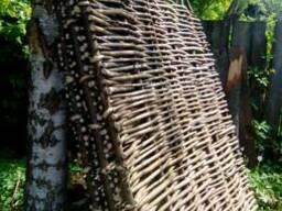 Ліщина, огорожа, тин , забори плетені паркани