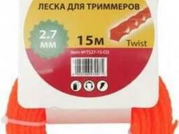 Леска для триммеров Forte 2,4 мм (15 м)