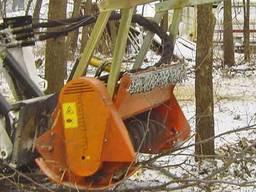 Лесной мульчер на мини-погрузчик Seppi Midiforst mt
