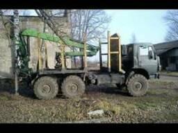 Лесовоз Манипулятор Услуги